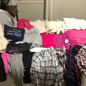 Girls size 8-10 bundle. $100